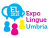 Logo ExpoLINGUE 2015 in Umbria
